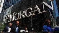 JP Morgan's London offices