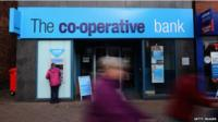 Co-operative bank front