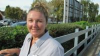East Coast Trains worker Sharon Willett