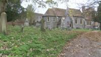 St Andrews Church in Bradfield