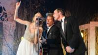 Taylor Swift, Jon Bon Jovi and the Duke of Cambridge