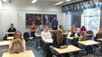 Classroom in Finland