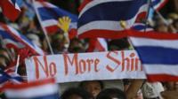 Anti-government Thai protesters