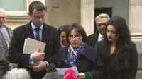 Bijan Ebrahimi's sister Manisha Moores gives a statement