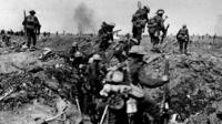 The Somme in World War One