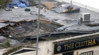 Roof of The Clutha in Glasgow
