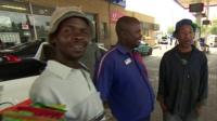 People at Soweto garage