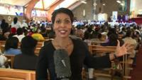 Lerato Mbele reports from the Regina Mundi church in Soweto