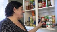 Susan Salamino, from Coventry, said she would have to stolen to feed her family if foodbanks had not been there to support her.