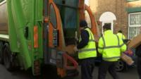 Lowestoft flood clear-up