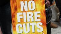 fire strike placard