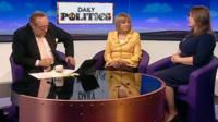 Andrew Neil, Mary Honeyball and Charlie Daniels