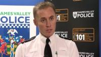 Superintendent Christian Bunt, Thames Valley Police
