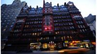 The Chelsea Hotel in New York City