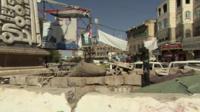 Tahrir Square in Yemen
