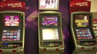 Fixed-odds betting machines.