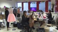 Strictly Come Dancing wardrobe department