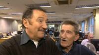 The Chuckle Brothers are currently appearing in a pantomime