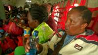 Kenyan nationals fly from South Sudan to Nairobi, Kenya