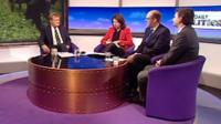 Charles Kennedy, Jo Coburn, Mark Reckless adn Tim Aker