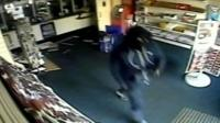 Oldham Post Office robbery CCTV