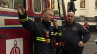 Clerkenwell firefighters