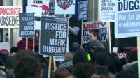 Vigil for Mark Duggan