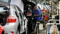 Car manufacturing plant