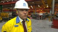 Paul Steele, managing director of Tata Steel Distribution UK