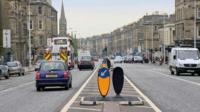 Traffic in Edinburgh