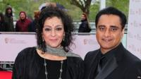 Meera Syal and Sanjeev Bhaskar