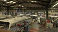 Wrightbus builds buses at its factory in Ballymena, County Antrim and is one of NI's biggest employers