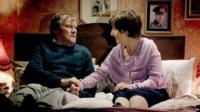 Roy and Hayley Cropper on Coronation Street