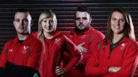Team Wales' commonwealth games uniform