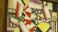 Painting Les cylindres colorés by Leger