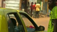 A street in Bangui