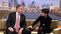 Shami Chakrabarti and Marti Ivens review the Sunday papers