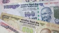 Indian banknotes