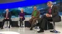 John McCain, Jane Harman, Turki Al-Faisal. and Alexei Pushkov