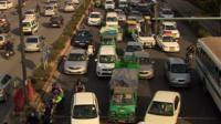 Congestion in Delhi
