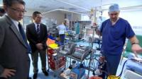 Japanese doctors learn from Leicester's Ecmo unit