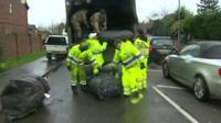 Flood defences unloaded