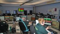 East of England Ambulance control room