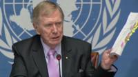 UN Independent Commission of Inquiry chairman, Michael Kirby