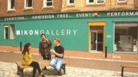Ikon Gallery in the 1980s