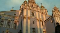 Mikhailovsky monastery in Kiev