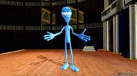 Bepe the blue alien