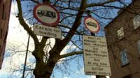 Parking sign in Streatham