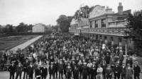 Belgian refugees in east Twickenham