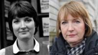 Ms Harman, who worked for the civil liberties group in 1982 (left), is now Labour's shadow culture secretary